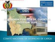 CNDC - HidrocarburosBolivia.com