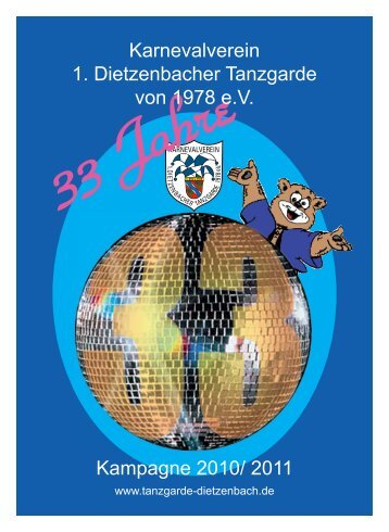 2009/ 2010 - 1. Dietzenbacher Tanzgarde