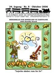 34. årgang · Nr. 8 · Oktober 2006 - lundens.net