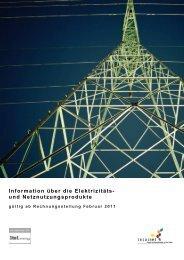 Netznutzungsprodukte - Localnet AG