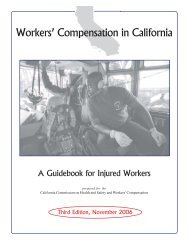 worker comp - Yuba County