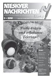 Amtsblatt März 2010 - Kreisstadt Niesky