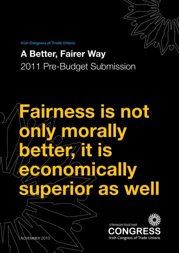 Fairness is not only morally better, it is economically superior as well