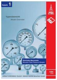 Übersicht 1000 (pdf 3.5 MB) - ARMATURENBAU GmbH und ...