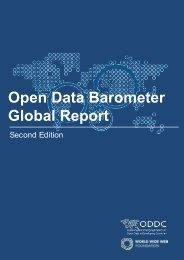 Open Data Barometer - Global Report - 2nd Edition - PRINT