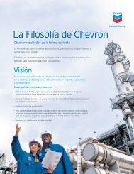 La Filosofía de Chevron