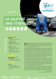 Le journal des Transports - ORT PACA