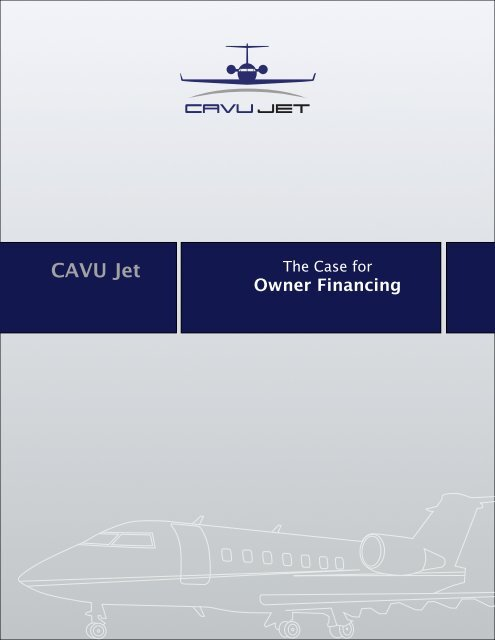 Owner Financing Overview pdf - CAVU Jet
