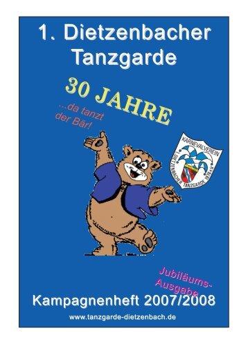 27. Januar 2008 - 1. Dietzenbacher Tanzgarde
