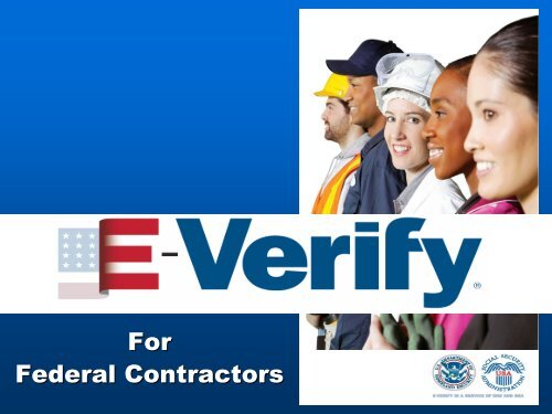 E-Verify for Federal Contractors - Maly Consulting LLC
