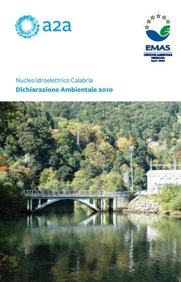 Dichiarazione Ambientale 2010 - A2A