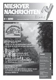 Amtsblatt Mai 2010 - Kreisstadt Niesky