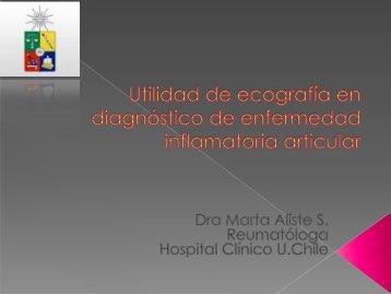 Utilidad de la ecografía en el diagnóstico de una enfermedad ...