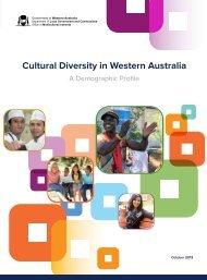 Cultural Diversity in Western Australia: A Demographic Profile