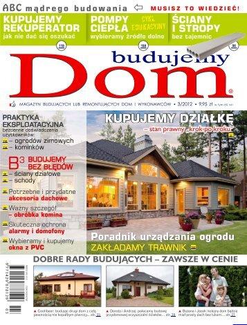 Budujemy Dom, marzec 2012 - UlubionyKiosk
