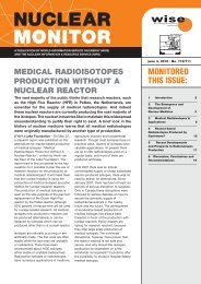 medical radioisotopes production without a nuclear reactor