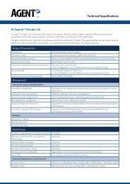 Technical Specifications Vi-Search™ Version 2.0 - Agent Vi