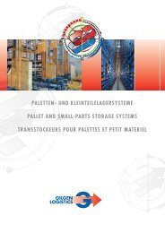 und kleinteilelagersysteme pallet and small-parts storage systems ...