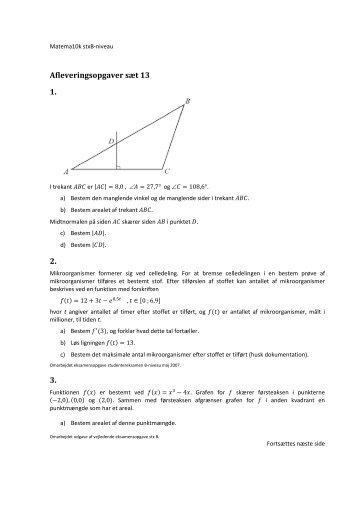Sæt nr. 12 - matema10k