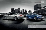 The Audi A6 and new S6 Saloon and Avant Pricing and ... - Audi Now