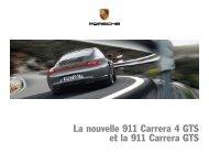 La nouvelle 911 Carrera 4 GTS et la 911 Carrera GTS