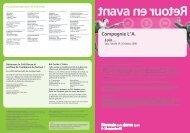 programme (pdf) - Biennale de la Danse 2008