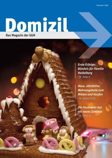 Domizil, Ausgabe 2008 - GGH