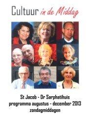 St Jacob - Dr Sarphatihuis programma augustus ... - WCOB