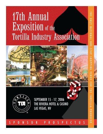 Sponsor Prospectus - Tortilla Industry Association