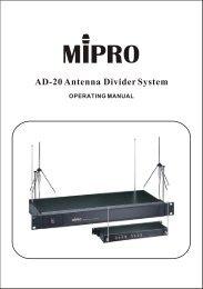 AD-20 Antenna Divider System