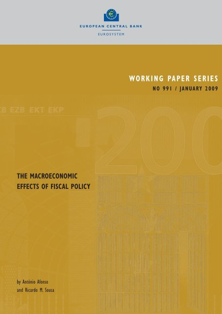 The macroeconomic effects of fiscal policy - Maths-fi.com