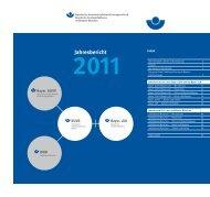 Jahresbericht 2011 - Kommunale Unfallversicherung Bayern
