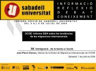 OCDE - Sabadell Universitat
