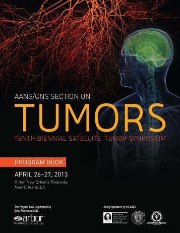 2013 Final Program - American Association of Neurological Surgeons
