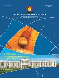 brochure 2012 - single page - curved - Thejus Engineering College