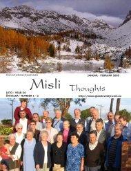 Misli, januar/februar 2005 - Glas Slovenije