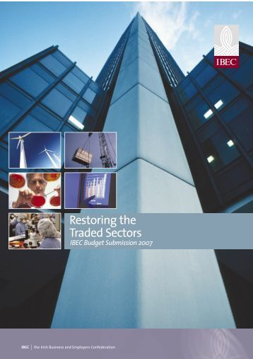 Restoring the Traded Sectors