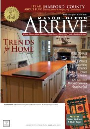 harford county - Mason Dixon Arrive Magazine