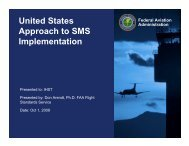 SMS for Small Operators and Private Pilots - Don Arendt, FAA - IHST