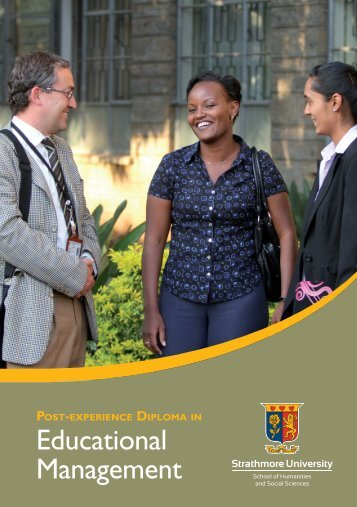 Educational Management - Strathmore University