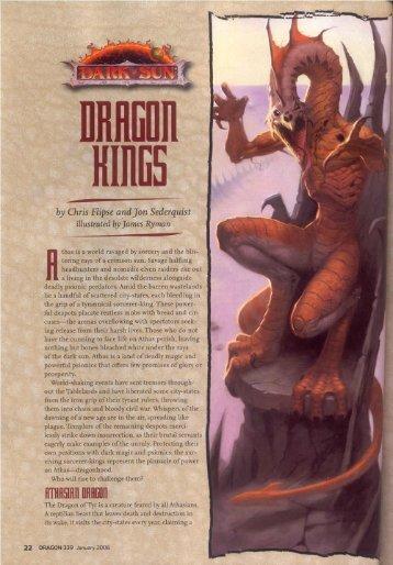 Dragon Kings.