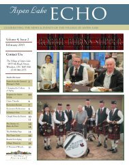 February 2013 Volume 4, Issue 2 Contact Us: - Schlegel Villages
