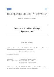 Discrete Abelian Gauge Symmetries - Technische Universität ...