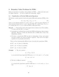 8 Boundary Value Problems for PDEs