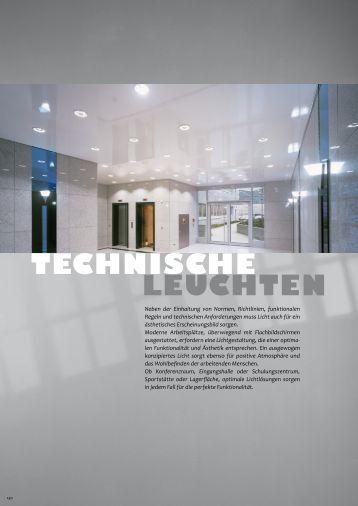 TECHNISCHE LEUCHTEN - Elektro Datz
