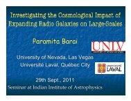 R - Indian Institute of Astrophysics