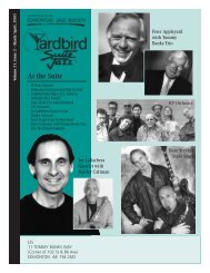 April - Yardbird Suite