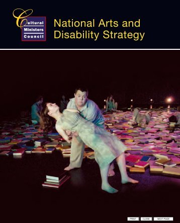 National Arts and Disability Strategy - Cultural Ministers Council