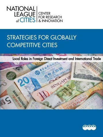 Strategies for globally Competitive Cities | local roles in