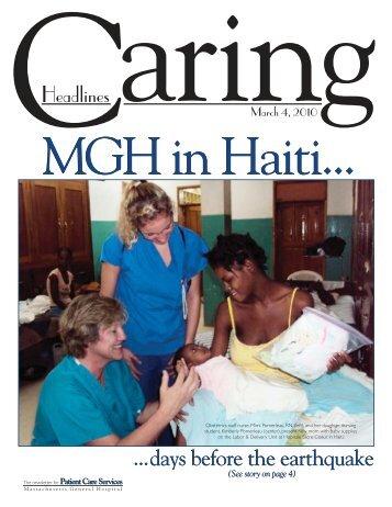 March 4, 2010 - Patient Care Services
